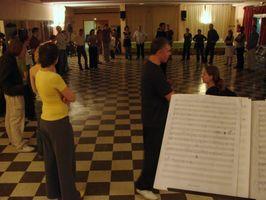 Photos (floues) de la soirée de ll'APLL'Swing Festival 2008